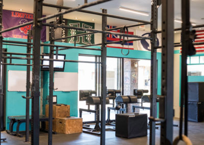 Club Maui CrossFit room