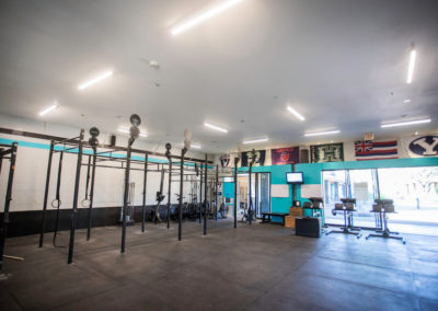 Club Maui CrossFit room