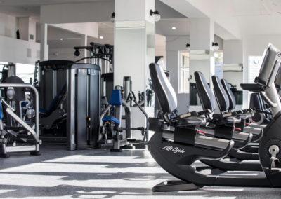 Club Maui cardio and weight room