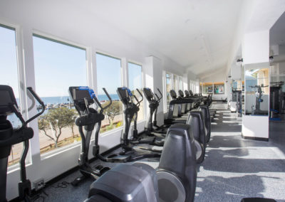 Club Maui ellipticals