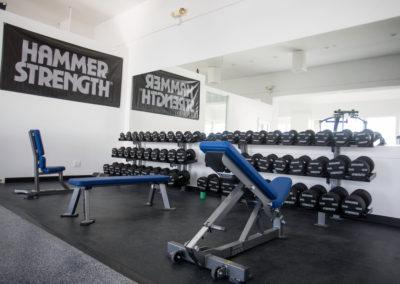 Club Maui free weights