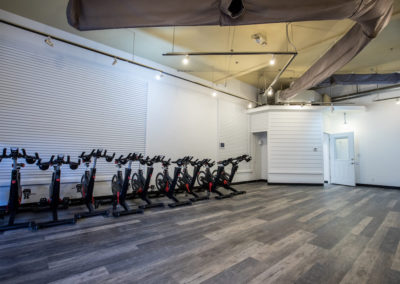 Club Maui group fitness room