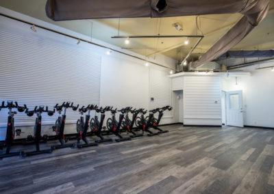 Club Maui group fitness room