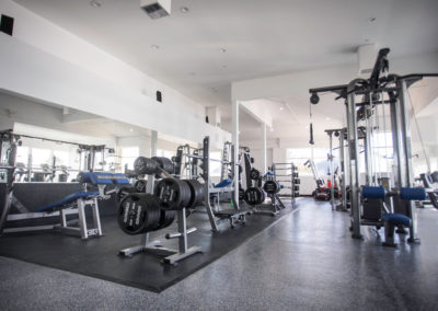 Club Maui weight room