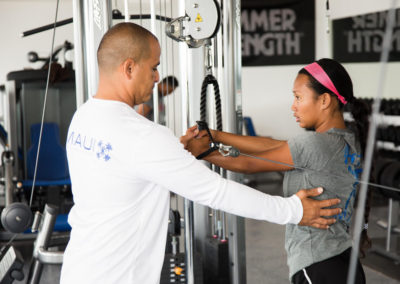 Club Maui Personal Training Session