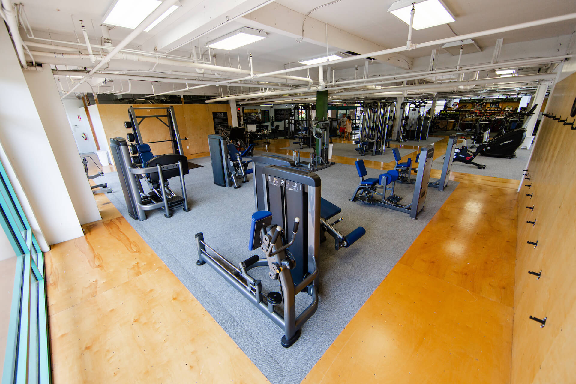 Club Maui Kahana Weight Room