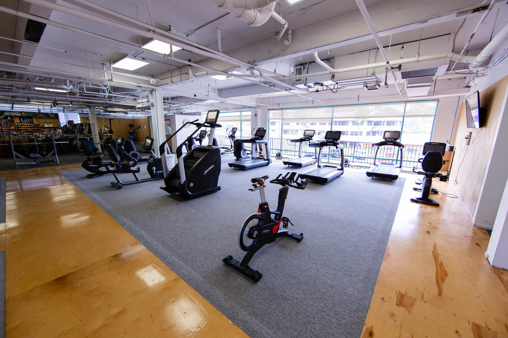 Club Maui Kahana Cardio Room