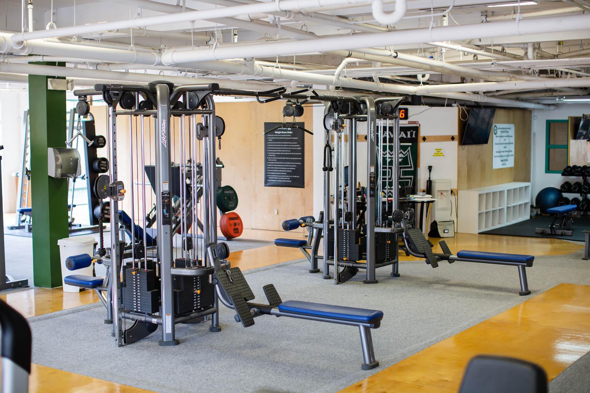 Club Maui Kahana Weight Room