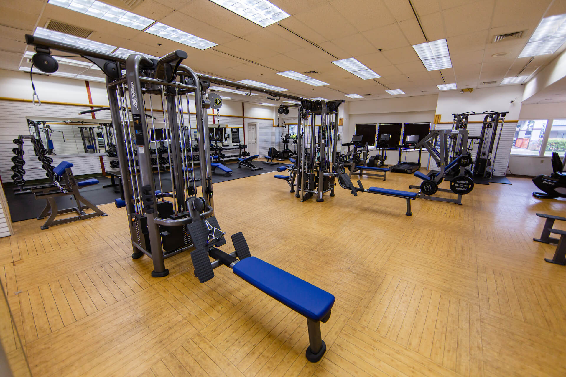 Club Maui Lahaina Cardio & Weight Room
