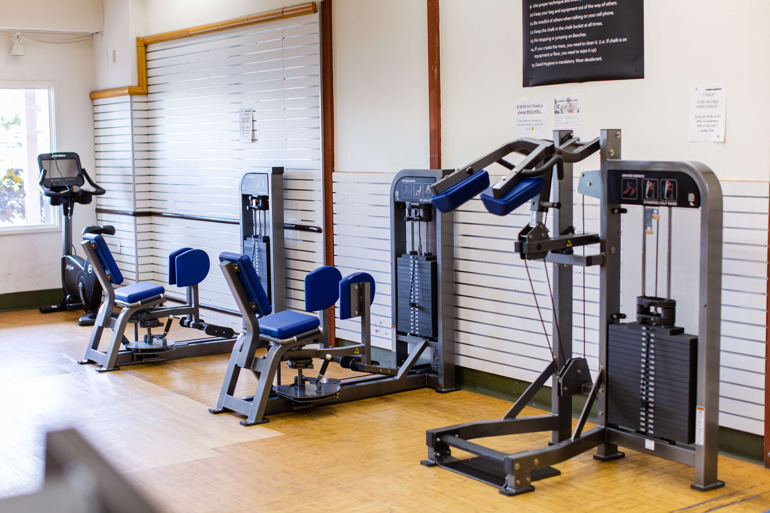 Club Maui Lahaina Weight Room